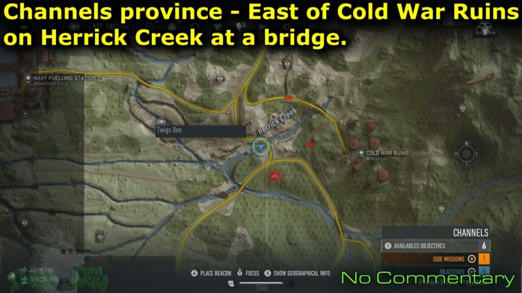 Herrick Creek East bridge location Movie IT